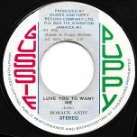 Love You To Want Me / Part Two  - Horace Andy / Simplicity People