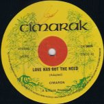 Love Has Got the Need / Wanted - The Cimarons