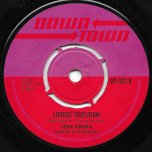Lovers Question / Blue Moon - Gene Rondo / Herbie Gray And The Rudies