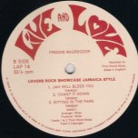 Lovers Rock Showcase Jamaica Style - Freddie McGregor