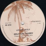What Can I Do / Lovers Styly - Juliet and Grace / Militant Barry