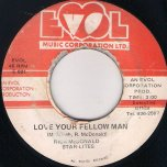 Love Your Fellow Man / Ver - Richie McDonald And the Starlites