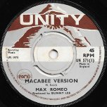 Macabee Version / Music Book - Max Romeo / Soul Syndicate