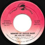 Memory Of Justice Band / Ver - Me And My Crew