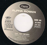 Mr No Heart - Alpha Rowen