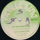I Dont Love You Anymore / My Man Wants Me - Love And Emotion