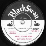 Night After Night / Here We Go Again - Sonny Burke And Yvonne Sterling / The Sonny Burke Group