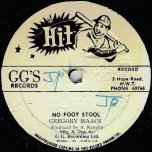 No Foot Stool / Dub Part II - Gregory Isaacs / GG All Stars