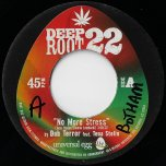 No More Stress / Plan B Version - Dub Terror Feat Tena Stelin / Dub Terror All Stars