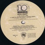 Not On My Own / Close To You / Peace - Maxi Priest