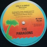 Only A Smile / You Mean The World To Me - The Paragons