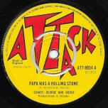 Papa Was A Rolling Stone / Feeling High - Sidney George And Jackie