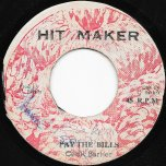 Pay The Bills / Ver - Cecil Barker