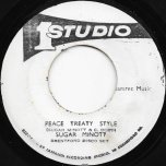 Peace Treaty Style / Pt 2 - Sugar Minott / Sugar Minott And The Brentford Road All Stars