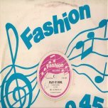 Play It Cool (Lovers Style) / Play It Cool (Dancehall Style) - Alton Ellis