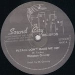 Please Dont Make Me Cry / All Because Of You / Give Me Time - Winston Groovy