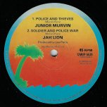 Police And Thieves / Soldier And Police War / Magic Touch / Grumblin Dub - Junior Murvin / Jah Lion / Glen Dacasta / The Upsetters