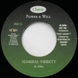 Power And Will / Ver - Admiral Tibet