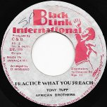 Practice What You Preach / Teach Them Dub - African Brothers