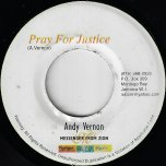Pray For Justice / Pray For Justice (Yaad Mix) - Andy Vernon
