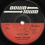Pretty Girl / Face Girl (Version) - Delroy Wilson / Joe Gibbs And The Professionals