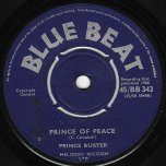Prince Of Peace / Dont Throw Stones - Prince Buster