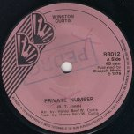 Private Number / From London With Love (Ver) - Winston Curtis