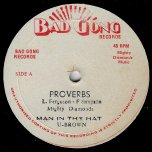 Proverbs / Man In The Hat / Pass The Drums / Lamentation - The Mighty Diamonds / U Brown / Bongo Herman / The Mighty Diamonds