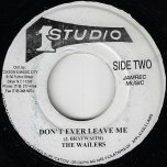 Pussy Galore / Don't Ever Leave Me - Lee Perry / The Wailers