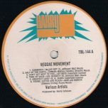 Reggae Movement - Various..Cables..Val Bennett..Busty Brown