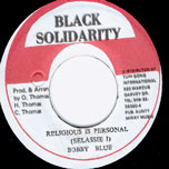 Religious Is Personal - Bobby Blue