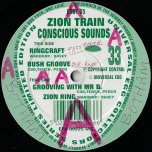 Grooving With Mr D / Zion Ring / Ringcraft / Bush Groove - Zion Train And Conscious Sounds