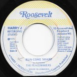 Run Come Sharp / Run Come Dub  - The Peacemakers