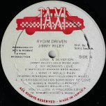 Rydim Driven - Jimmy Riley