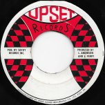 Same Thing All Over / Its Over - The Inspirations / The Upsetters