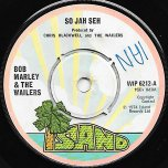 So Jah Seh / Natty Dread - Bob Marley And The Wailers