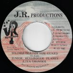 Soldier Deh Pon Yuh Guard / Unknown Inst - Junior Reid / Roger Flames / Iya Thunder