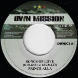 Songs Of Love / Songs Of Dub  - Prince Alla