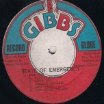 State Of Emergency - Joe Gibbs and The Professionals