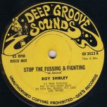 Stop The Fussing and Fighting / Diamond Ring - Roy Shirley