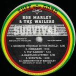 Survival - Bob Marley And The Wailers