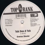 The Best Gonna Come / Talk Dem A Talk - Ed Robinson / Everton Blender