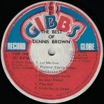 The Best Of - Dennis Brown
