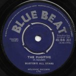 My Girl / The Fugitive - Prince Buster / Buster's All Stars