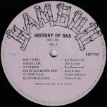 The History Of Ska 1960 - 1965 - Various..Don Drummond..Lord Creator..Andy And Joey..Delroy Wilson..Skatalites