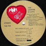 The Answer Is Love - Fred Bryan And The All Stars
