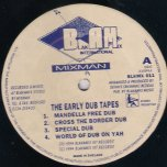 The Early Dub Tapes - Mixman