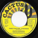 Three Pan One A Murder / Ver - Rupie Edwards