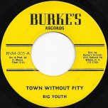 Town Without Pity / Youth In The Garden Ver - Big Youth / Burkes All Star