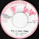 Try A Little Thing / Ver - Tony Tuff / Leon And The Revolutionaries